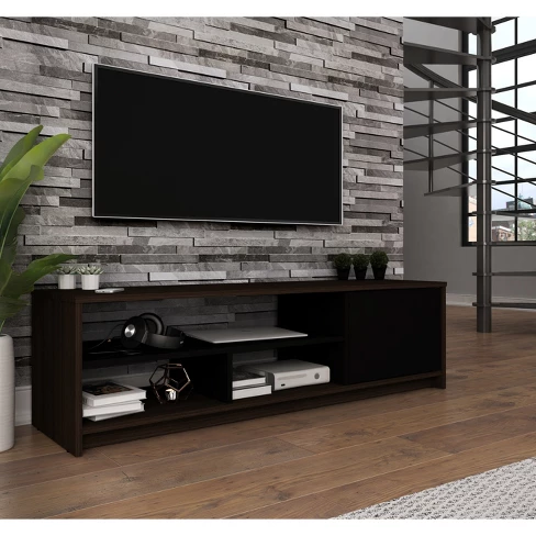 53 5 Small Space Tv Stand Bestar Living Room Tv Tv Stand Designs Tv Wall Design