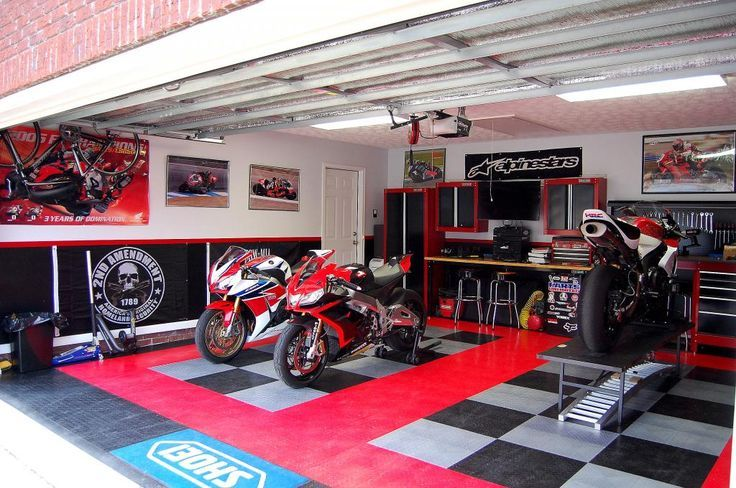 motorcycle garages only page 54 the garage journal on extraordinary affordable man cave garages ideas plan your dream garage id=44624