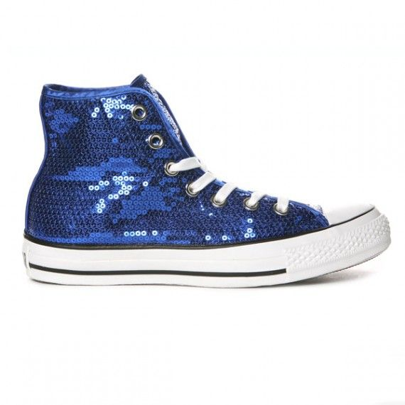 size 40 d233f 881d9 Sapphire Chucks - loving these!