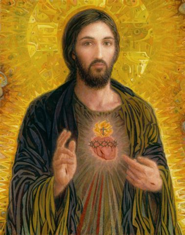 A beautiful painting of the Savior Jesus Christ. His face reflects the immeasurable love & holy compassion He has for humanity that led Him to die on the cross for our sins so that we might be forgiven & redeemed through His spotless blood. Sacred Heart Smith Catholic Art