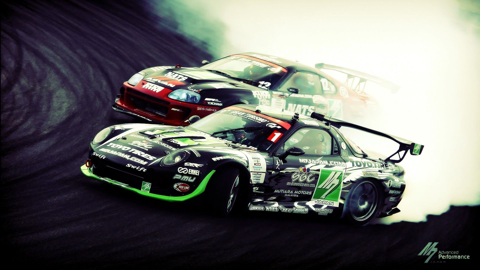 Smoke Mazda Drift Tuning Toyota Racing Cars Racing Cars