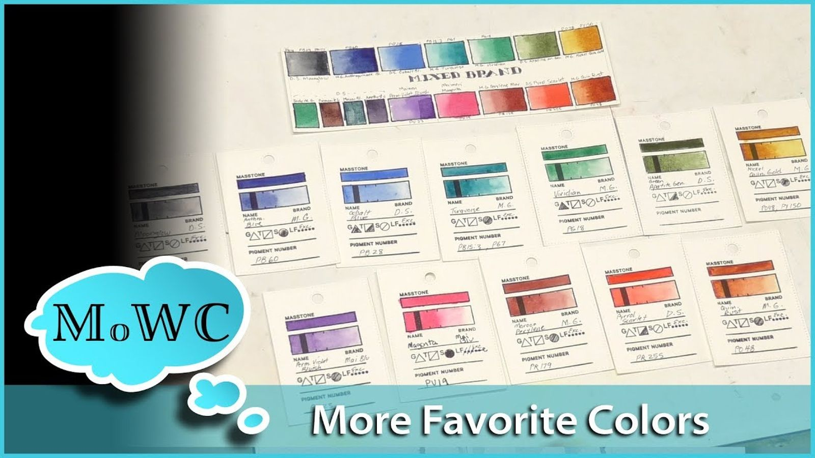 12 More Colors I Love Awesome Selection For Watercolor Landscape