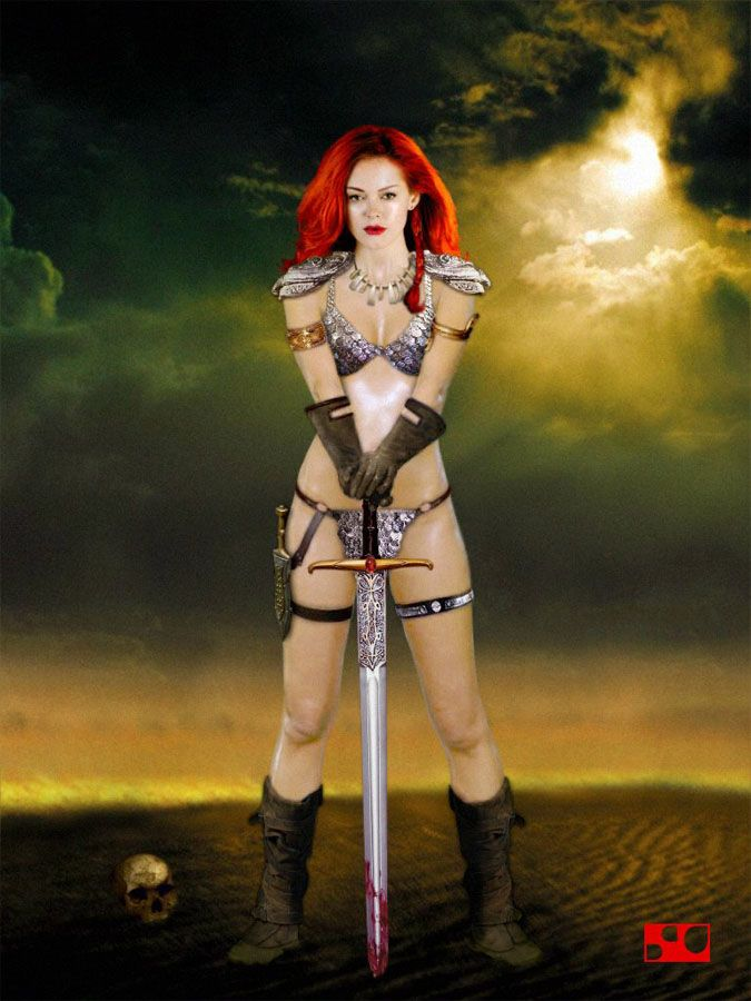 Pin By Katrin Rowen On Nicky A Luc Red Sonja Movie Red Sonja Comics Girls
