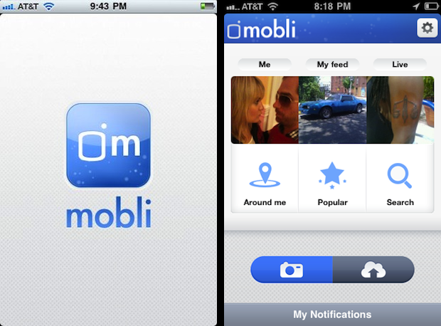 Keep up with your friends using Mobli. Know whats happening at every moment.