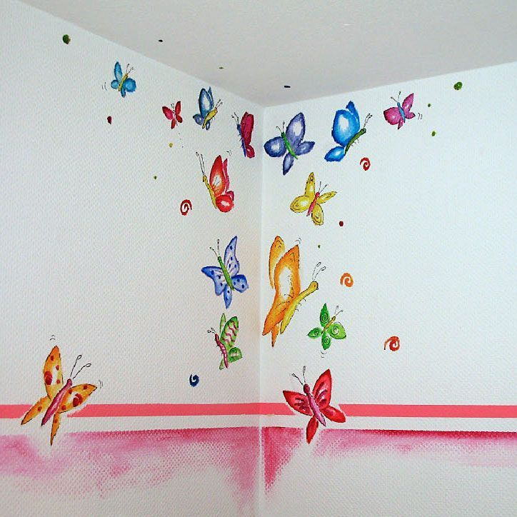 Kindergarten des erdigen Pastellmädchens Neutral Nursery