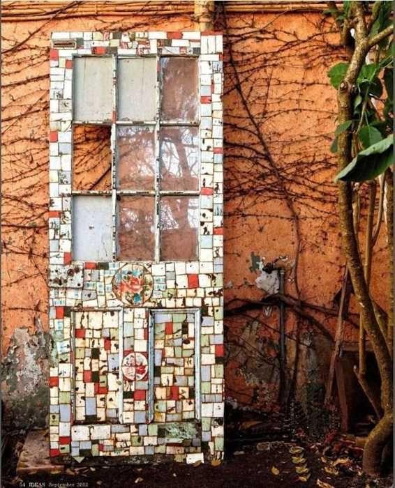 30 Modern Home Decor Ideas: 30 Modern Wall Decor Ideas Recycling Old Wood Doors For