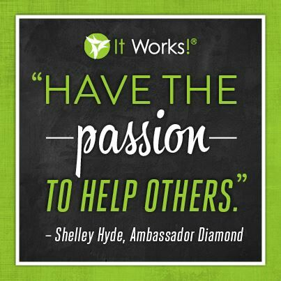 I do! Please contact me and I WILL help you meet your goals! https://sarastrait.myitworks.com