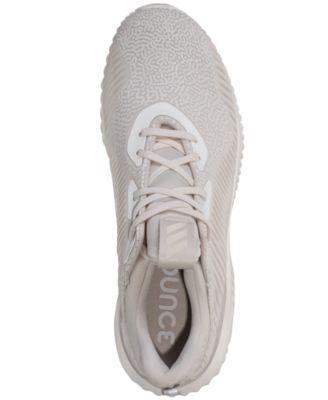 e9d9a4c72b45 adidas Men s AlphaBounce Em Hpc Running Sneakers from Finish Line - Gray  10.5