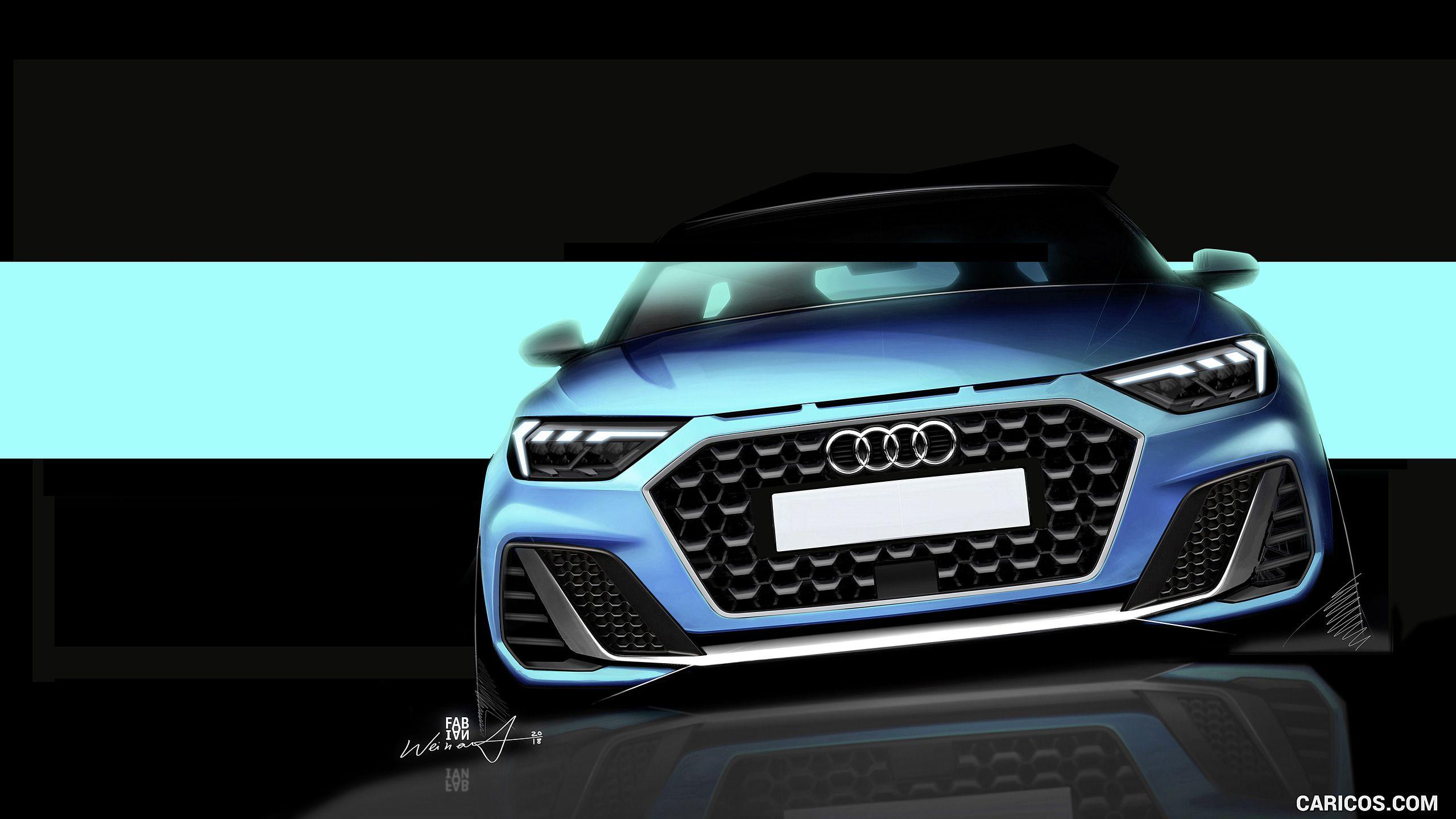 2019 Audi A1 Sportback Wallpaper Design Sketch Car Design
