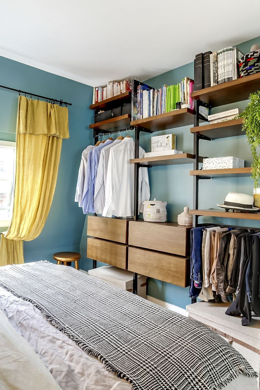 Rangements chambre  idées aménagement   Dressing room design ...