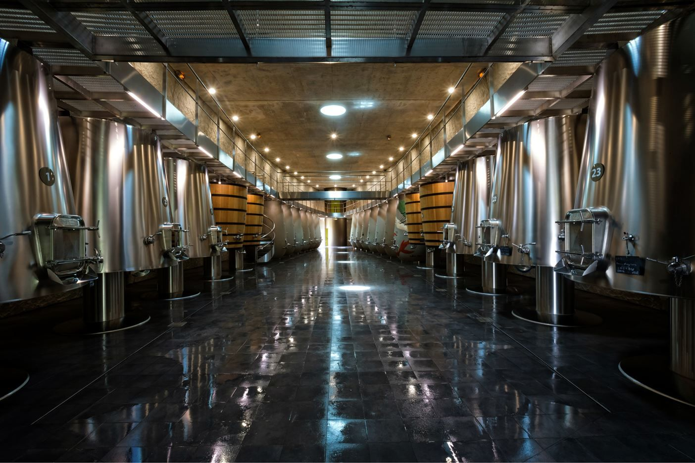 A New Cellar At Chateau Les Carmes Haut Brion Picture Gallery