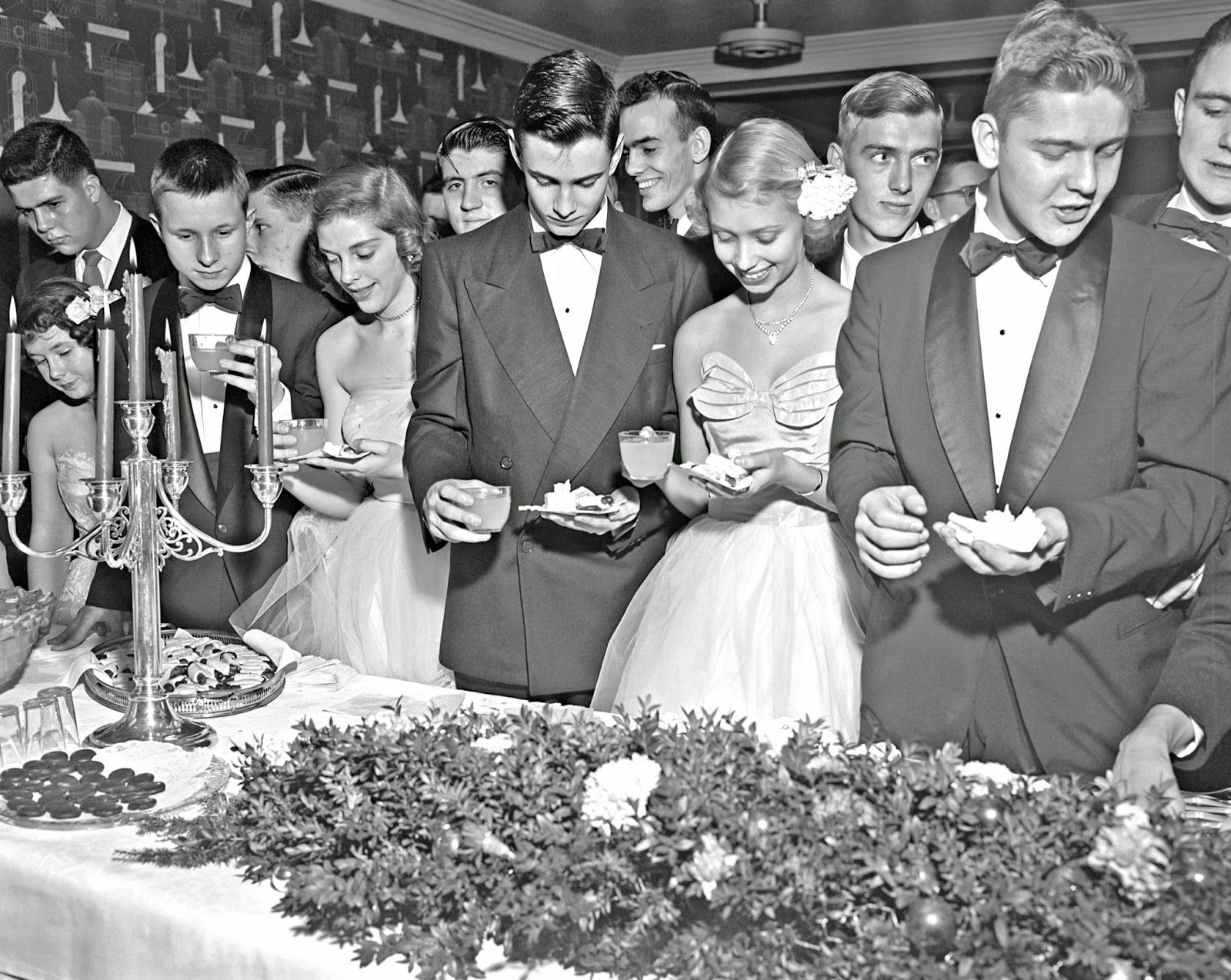 Lebus Christmas Party, 1952
