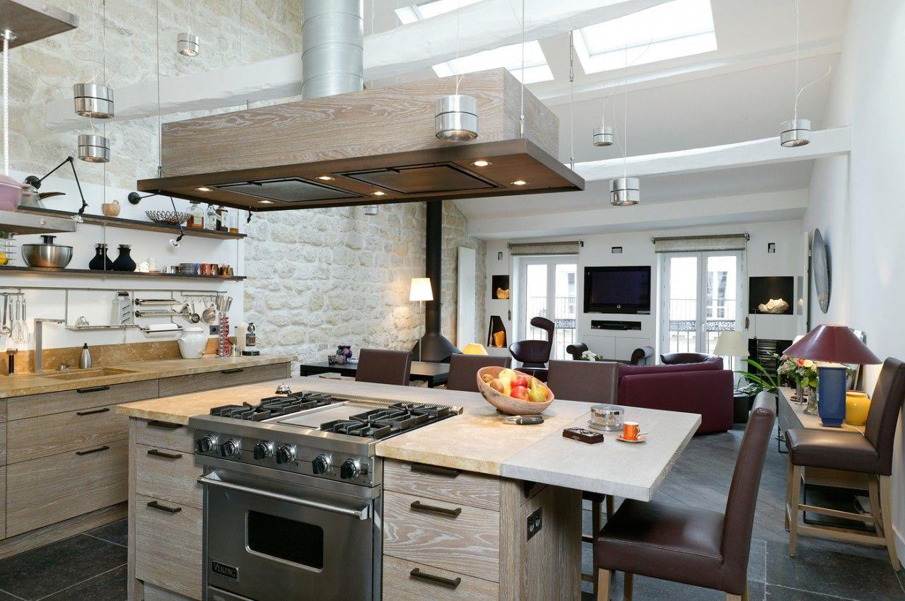 Cr ation de cuisines contemporaines zen d co maison pinterest deco cuis - Creation deco maison ...