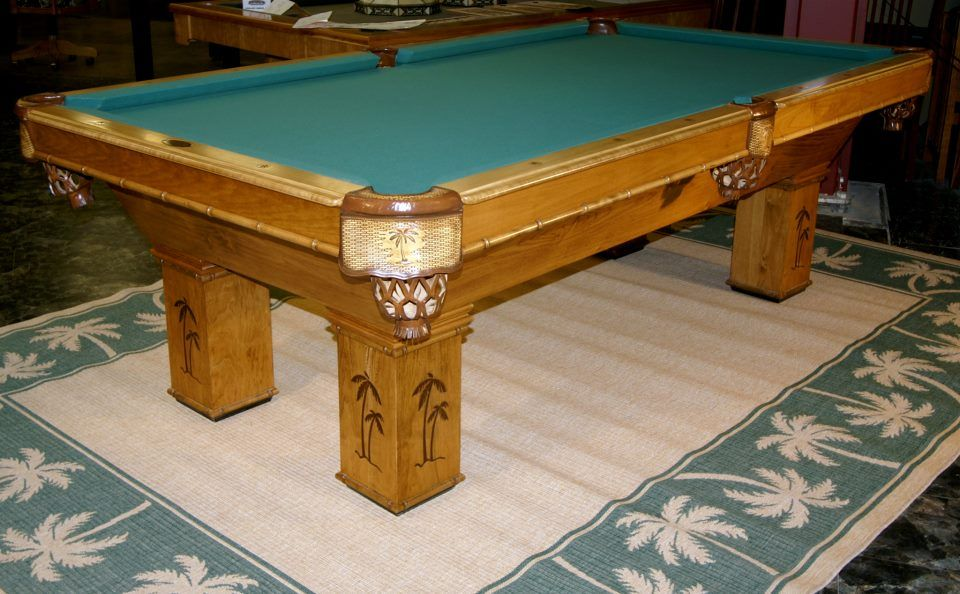Golden West Bahama Pool Table The Bahama Features Laser Etched