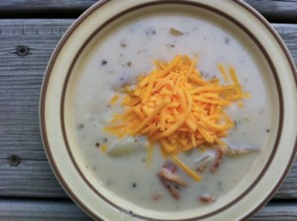 Slow Cooker Potato Soup- Whole Foods Version