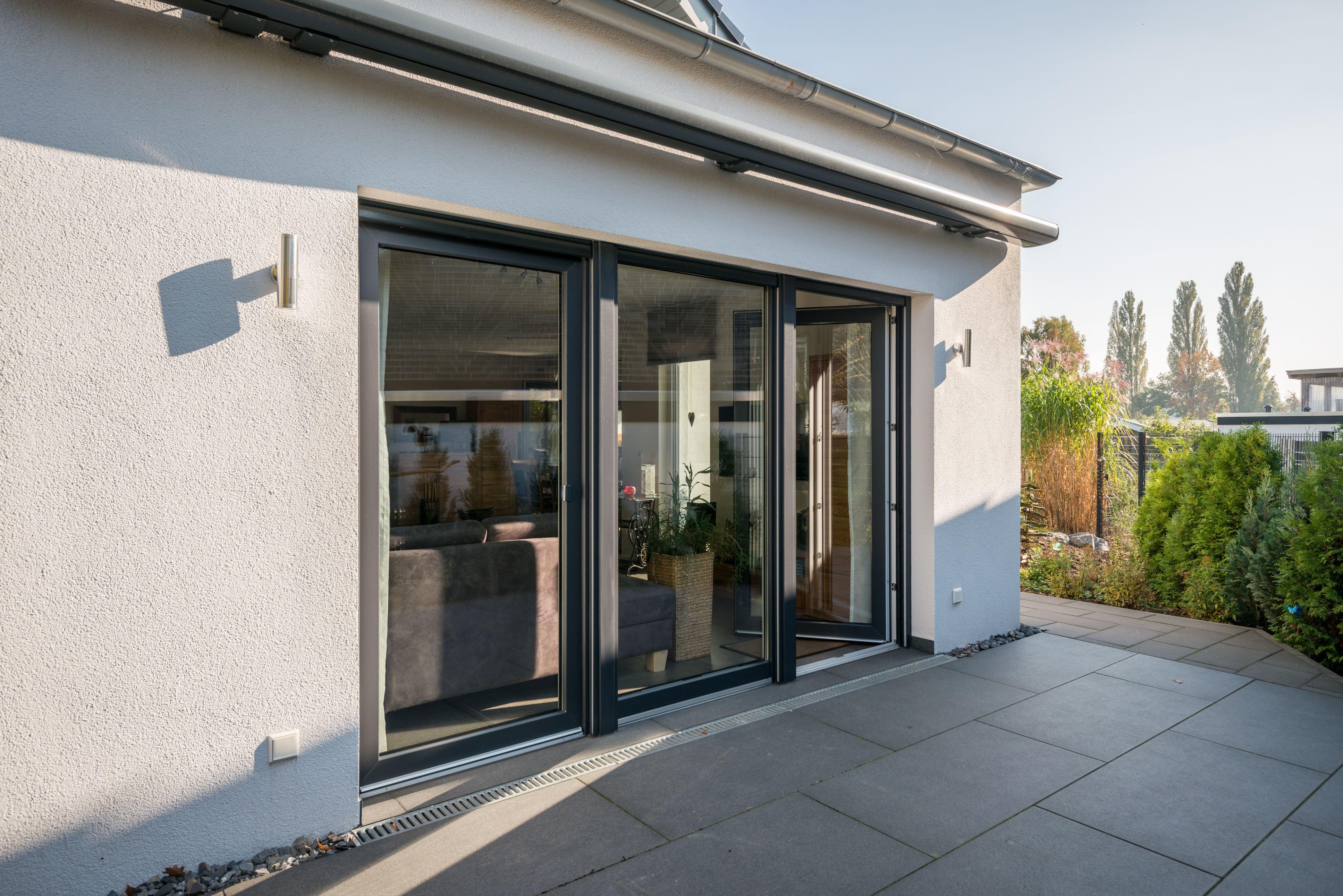 Terrassentüren Aus Hochwertigen Kunststoff Und Glas