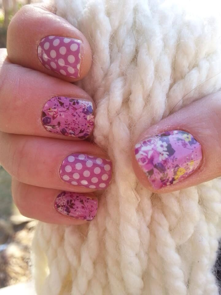 Lasts up to 2 weeks on fingers and 6 weeks on toes! www.mindysanders.jamberrynails.net   #naildesigns #nails #orchidnails #orchid #orchidnailart #polkadotnails #nailart #jamberrynails #jamberry #polkanails #coloroftheyear like me on Facebook to www.facebook.com/mindysanders.jamberrynails