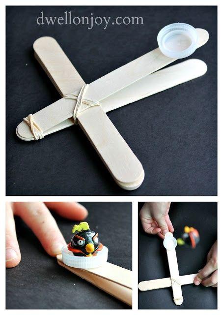 Verweile bei Joy: {Mach es dir selbst} Angry Birds Catapult! - #angry #bei #birds #catapult #dir #Es #Joy #Mach #selbst #verweile #machesselbst–diy