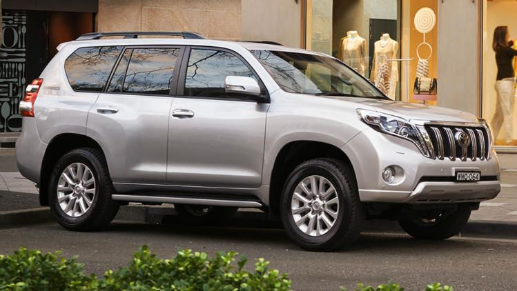 Toyota Landcruiser Prado Suv Suv Car Land Cruiser
