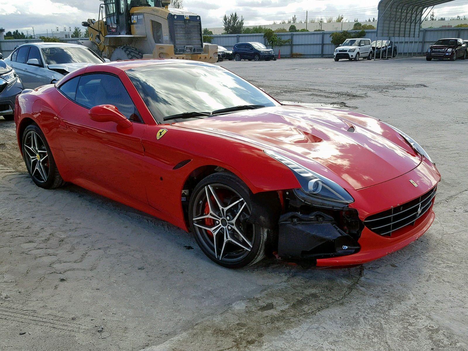 2017 Ferrari California Salvage Exotic Luxury Cars Ferrari