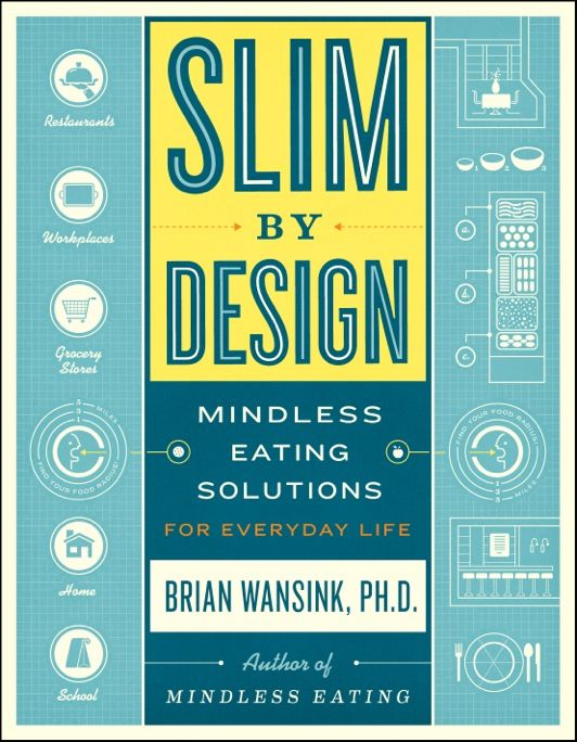 "Brian Wansink's upcoming book, ""Slim by Design:  Mindless Eating Solutions for Everyday Life."""