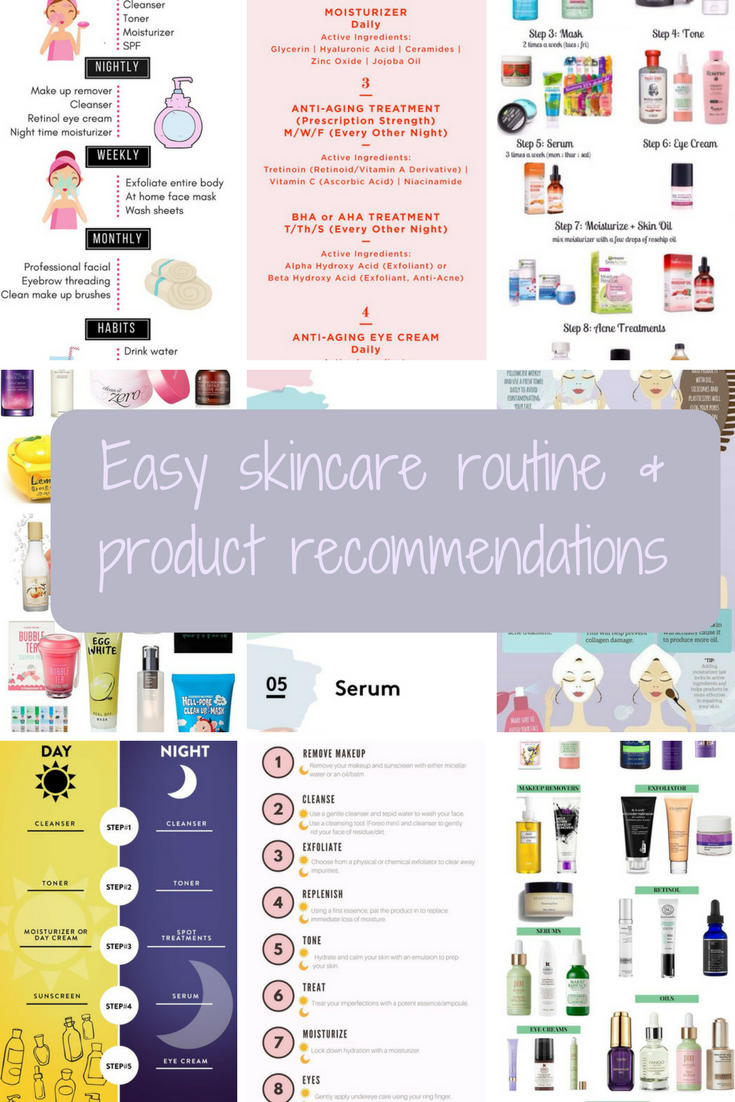 Ipage Skin Care Routine Facial Skin Care Routine Simple Skincare Routine