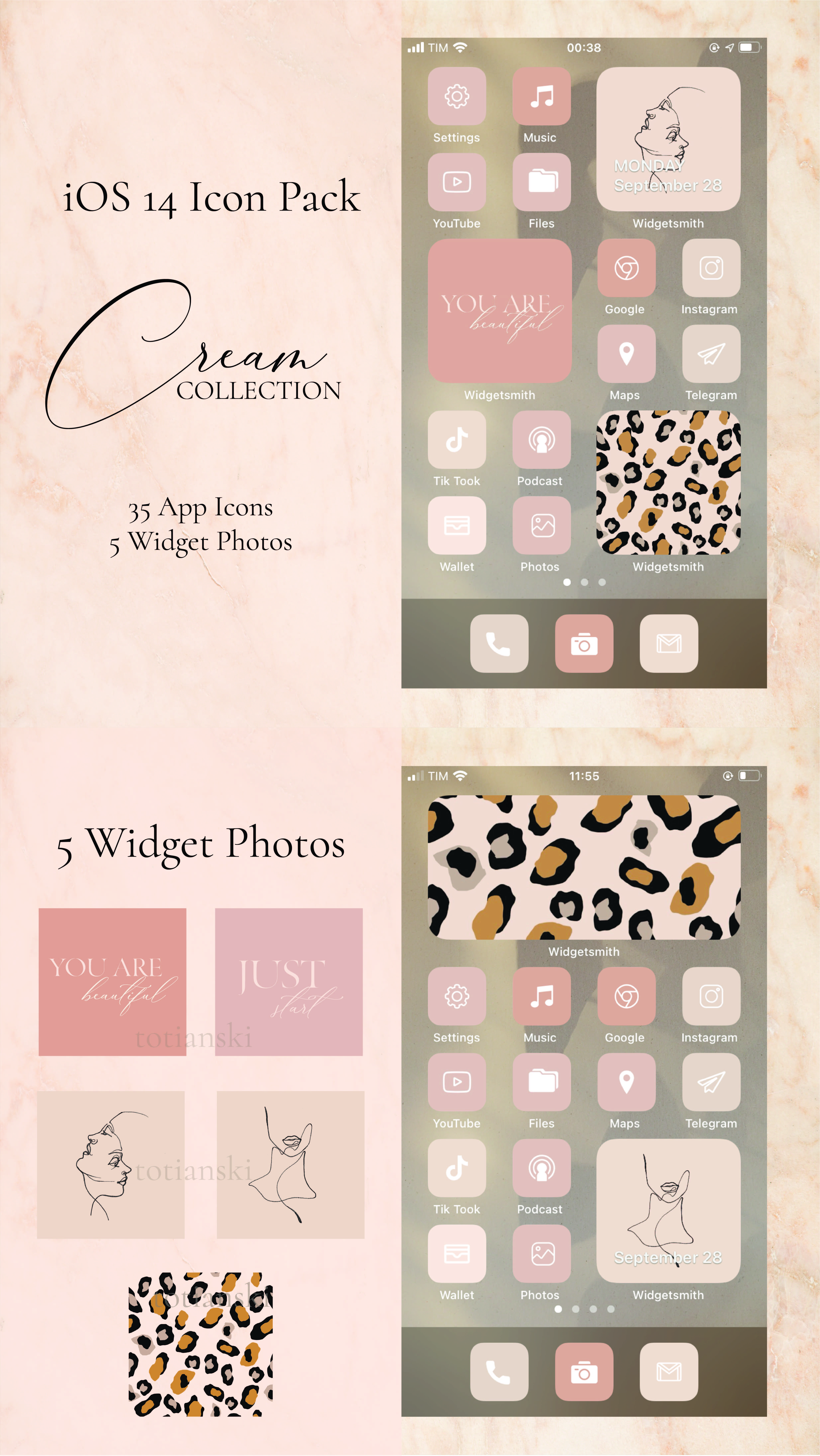 Cream Collection 35 Iphone Ios 14 App Icons Ios14 Widget Photos Widgetsmith Shortcuts Ios Widget Covers Ios 14 Icon Pack In 2020 Iphone Wallpaper App Homescreen Iphone Iphone Design