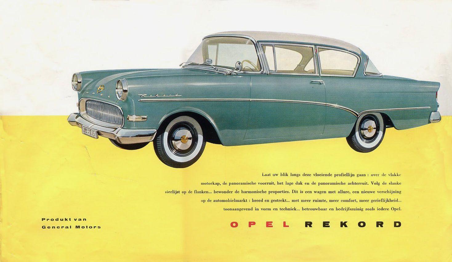 1958 opel rekord