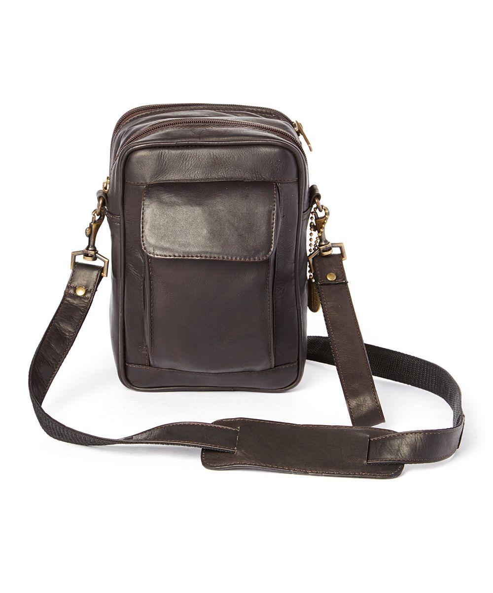 f0d4ad5459 Café Organizer Leather Crossbody Bag