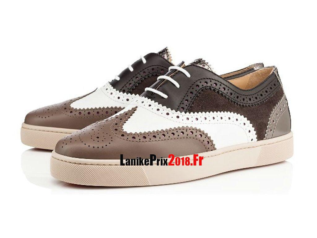 tout neuf 77416 74d74 Christian Louboutin Homme Chaussures Golfito Multi POIVRE ...