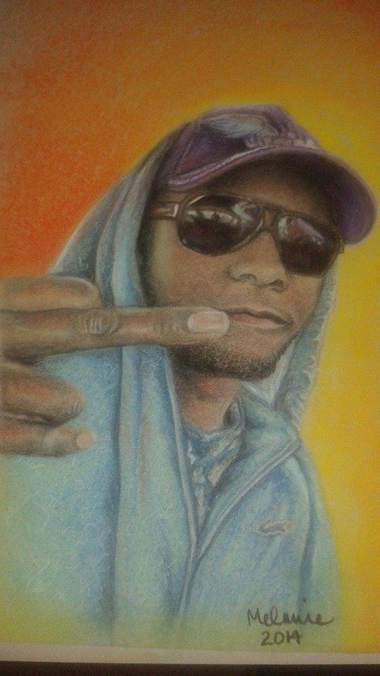 portrait in pastels / pastel art