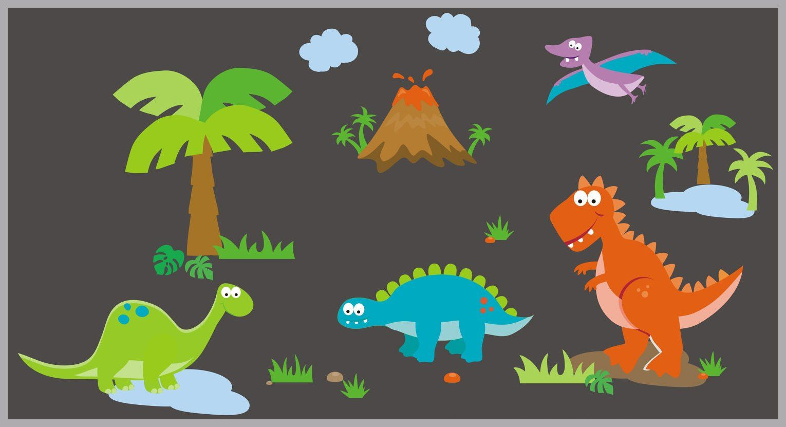 Dinosaur Wall Decals Wall Decals For Nursery Room Large