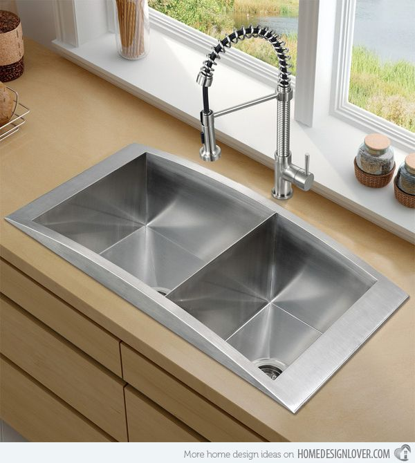 15 Functional Double Basin Kitchen Sink Part 8