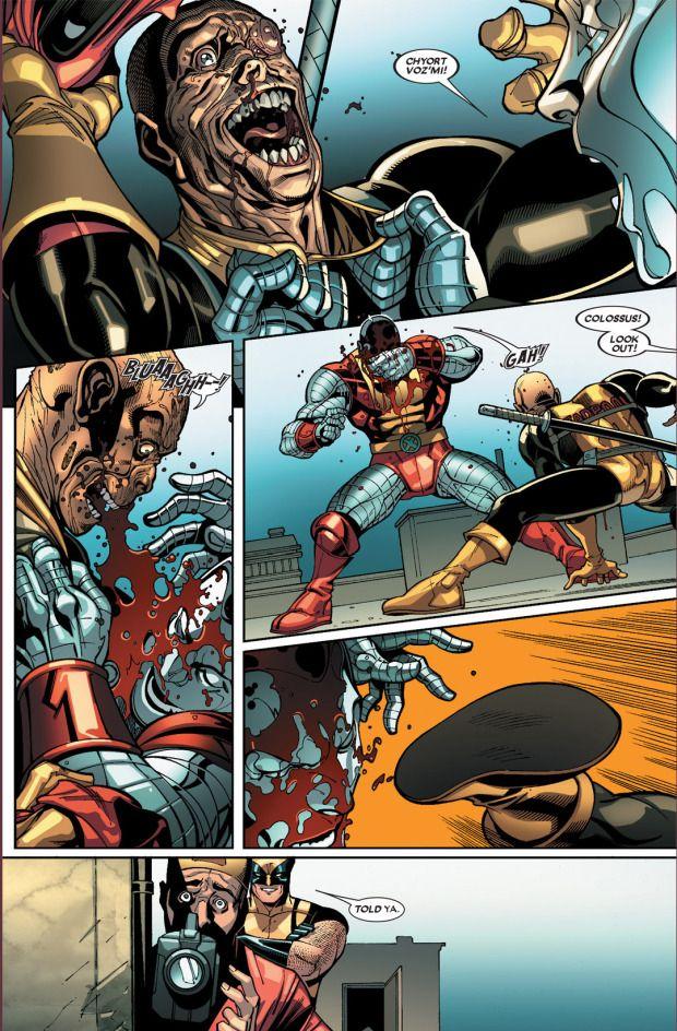 Deadpool Vs The X Men Deadpool Comic Deadpool Marvel Funny