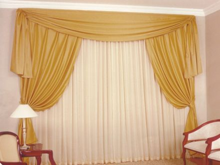 20131031 cortinas para sala 7 Cortinas para Sala Window Treatment - ideas de cortinas para sala