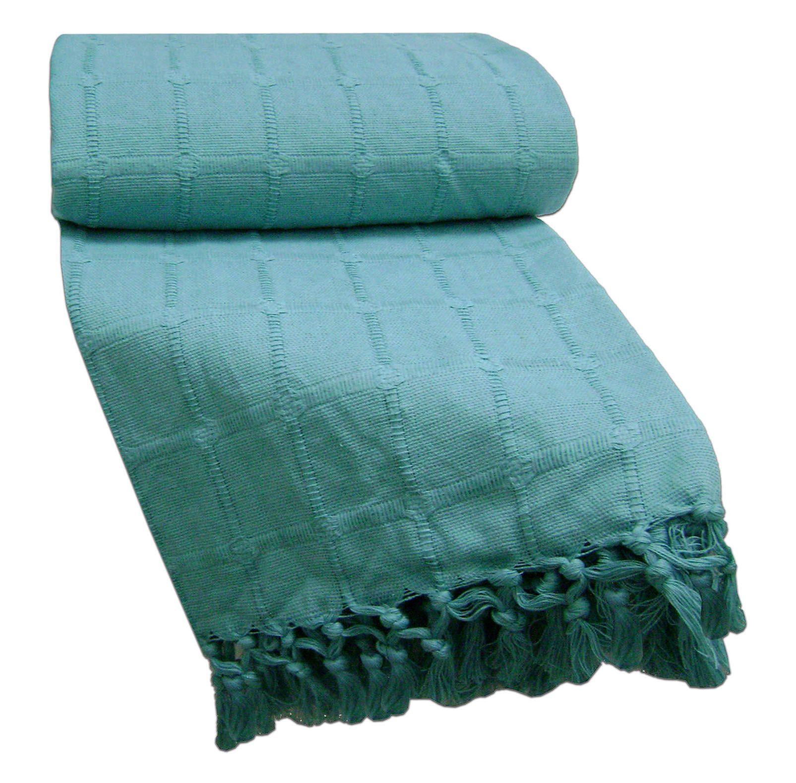 100 Cotton Bed Sofa Throw 150x200CmsFits 2 Seater Sofa