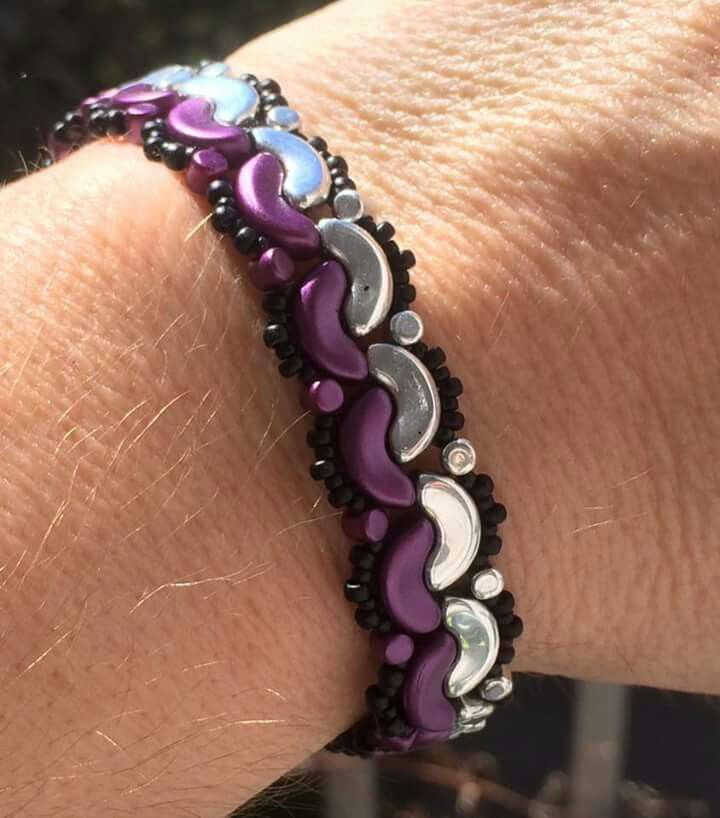 Made with the new Par Puca beads