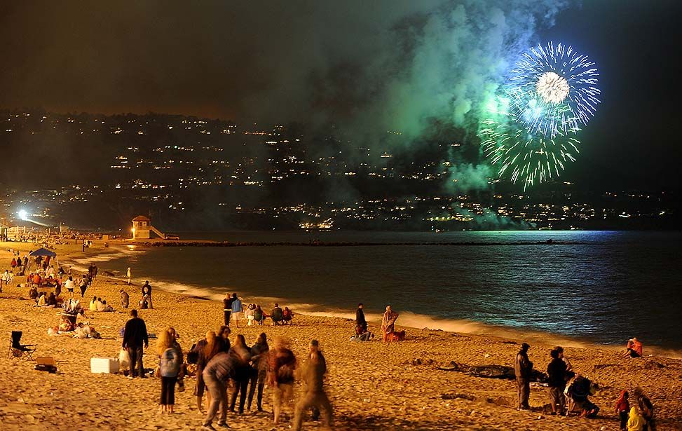 REDONDO BEACH best fireworks ever! | Redondo Beach | Pinterest
