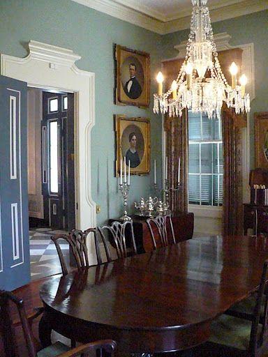 Inside Sturdivant Hall Antebellum Home English Dining Room Antebellum Homes