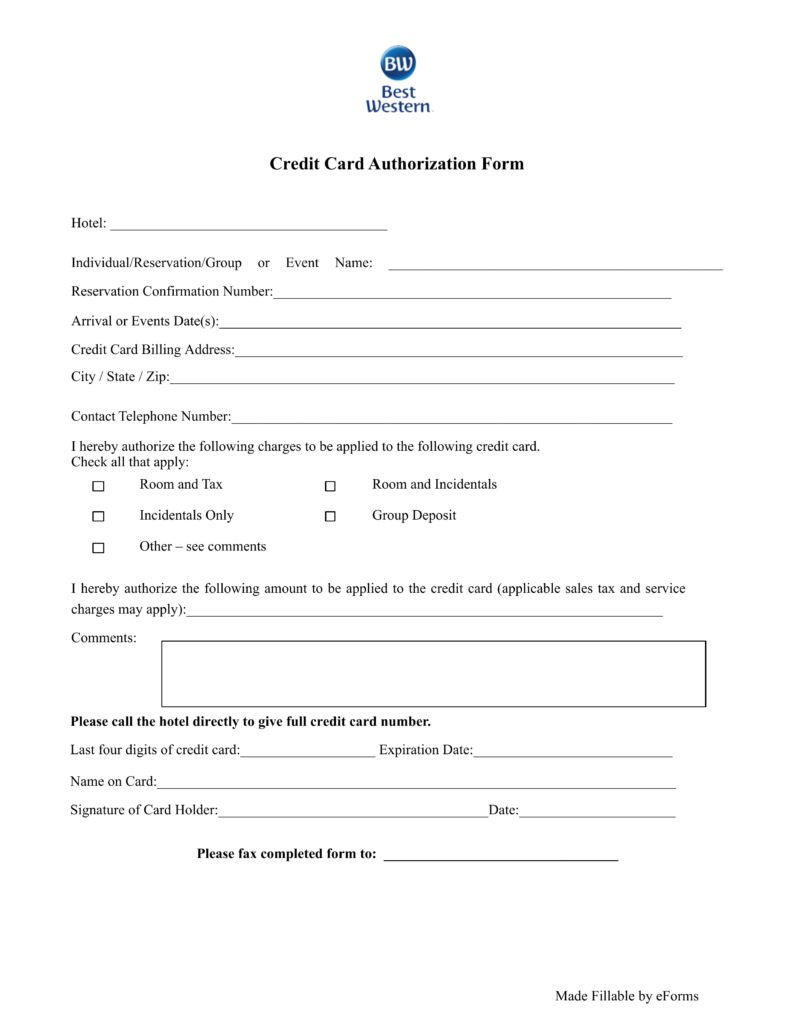 21 Credit Card Authorization Form Template Pdf Fillable 2019 With Regard To Credit Card Billing Authorizati Hotel Credit Cards Credit Card Business Template