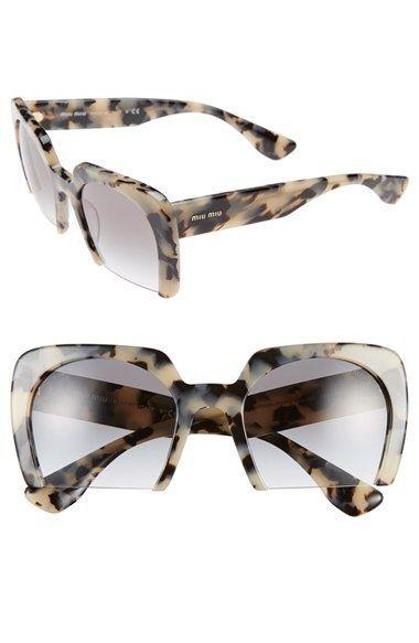 2a172d18607 Women s Miu Miu 53mm Sunglasses - White Havana