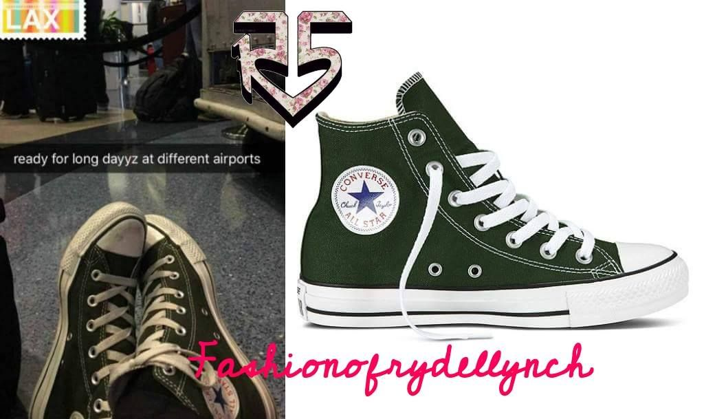 849affe8ffe4 Converse Classic All Star Hi-Top Dark Green Canvas... - Fashion Of ...