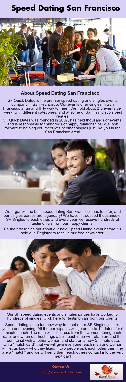 free speed dating san francisco