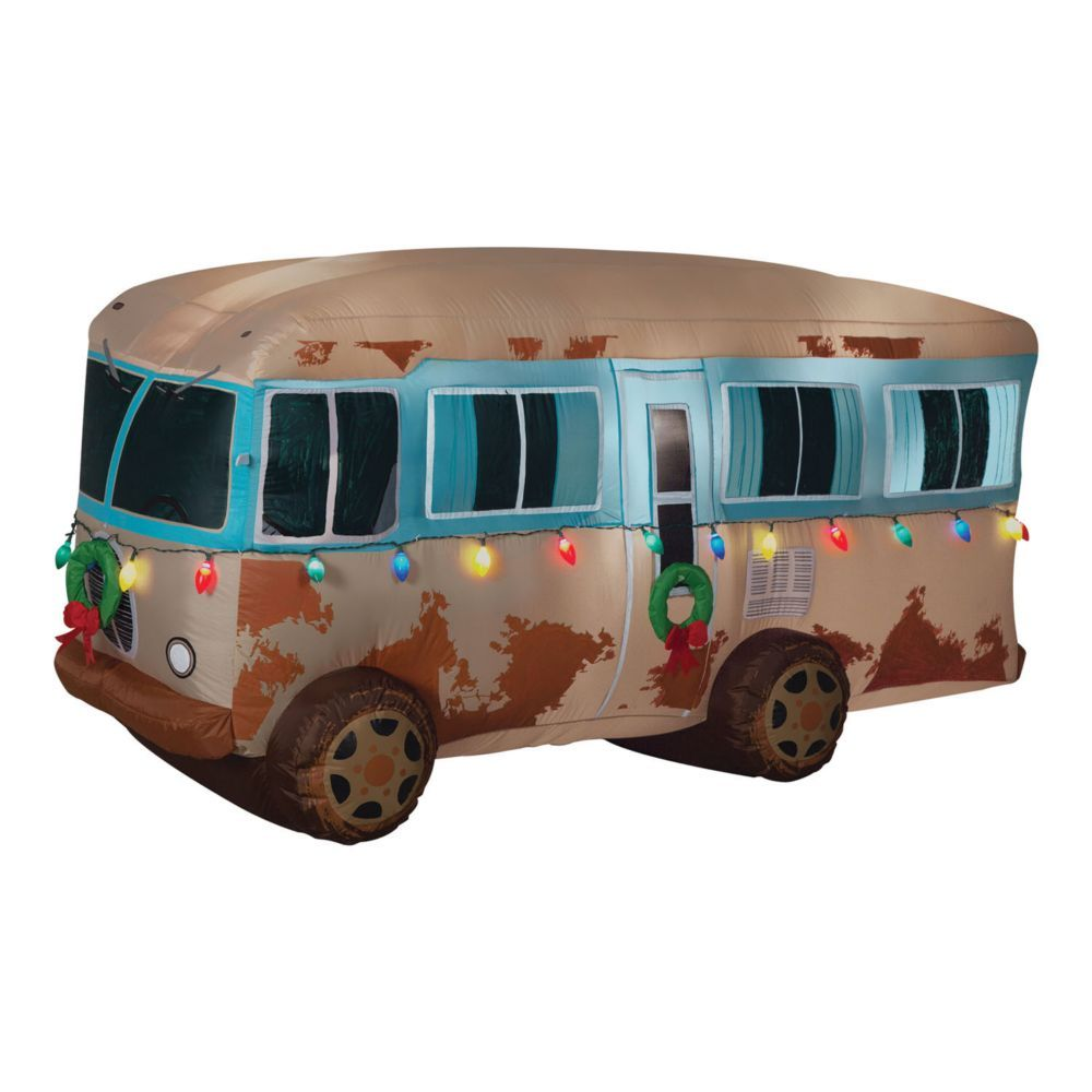 Inflatable Christmas vacation decorations