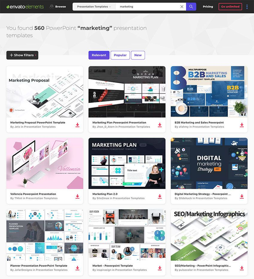 25 Marketing Powerpoint Templates Best Ppts To Present Your For