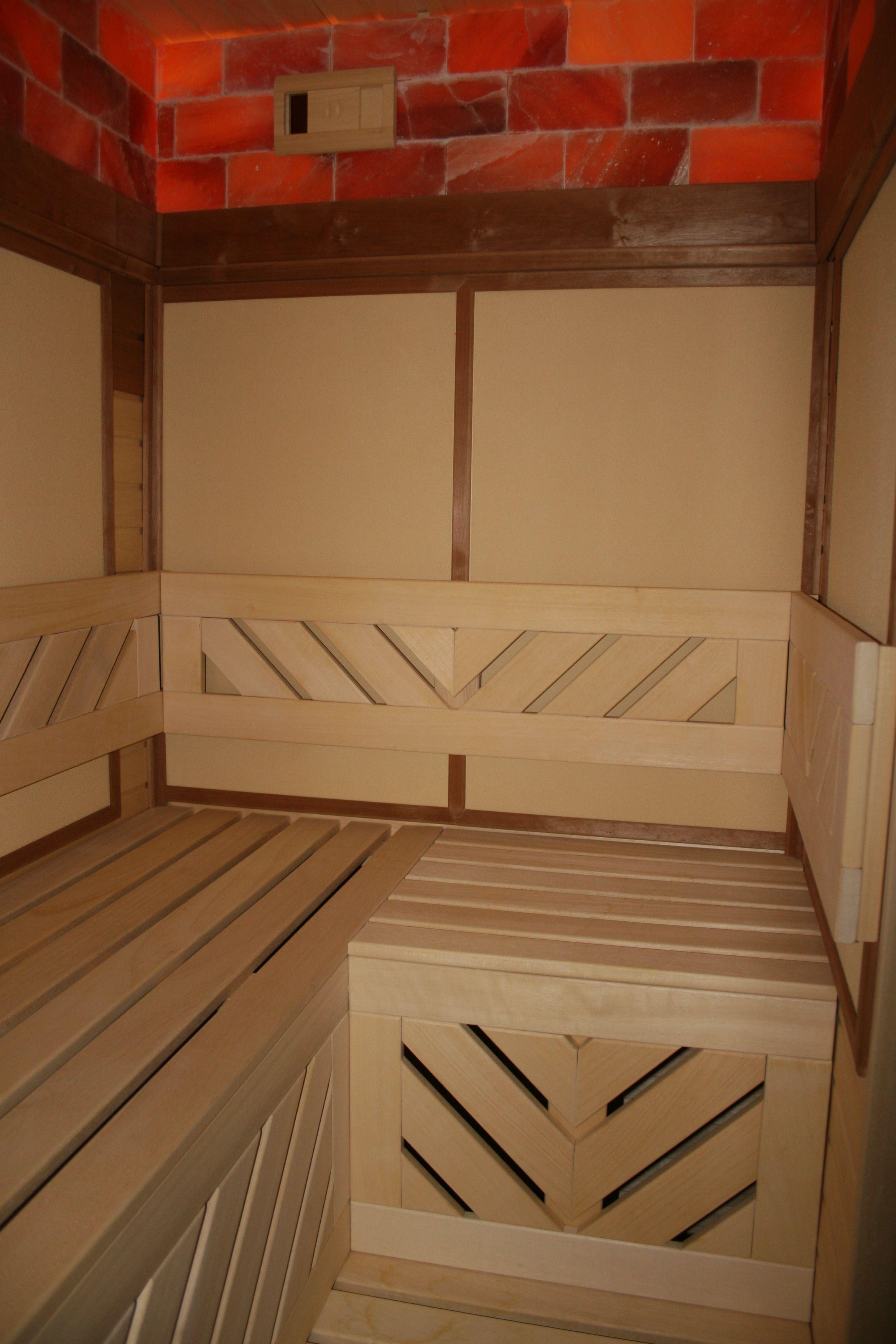 Master bedroom with jacuzzi tub  Infra panel  Szauna  Pinterest
