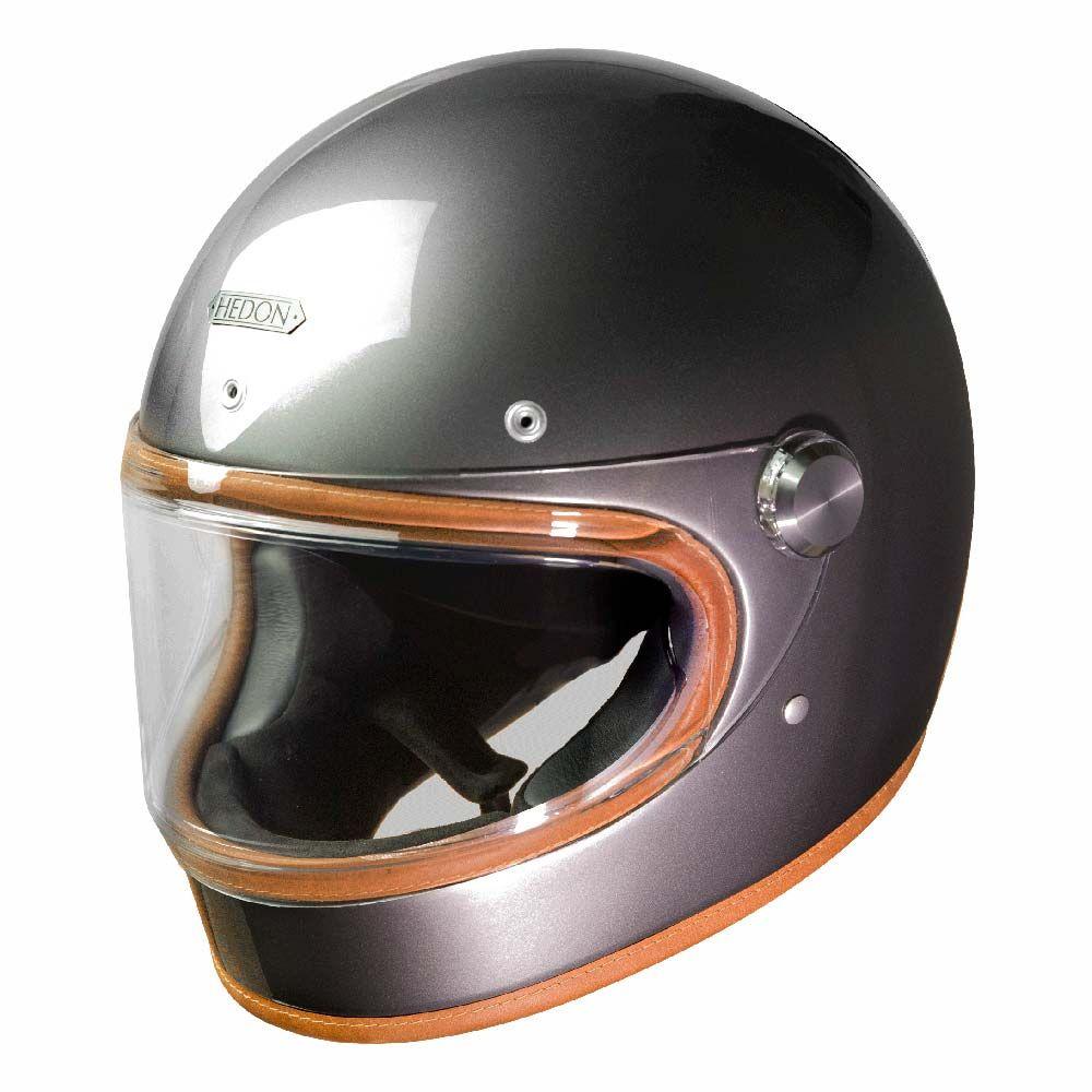 Hedon Heroine Racer Helmet - Ash   Full Face Motorcycle Helmets   FREE UK  delivery - 8fbf5b539ae3