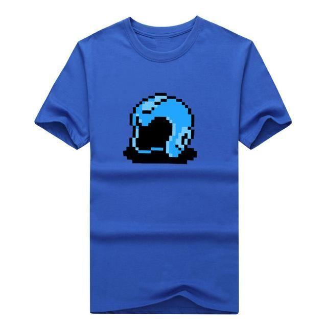 """Megaman NES """"Helmet"""" Super Nintendo t-shirt MANY COLORS & SIZES Fashion T SHIRT 1025-3"""