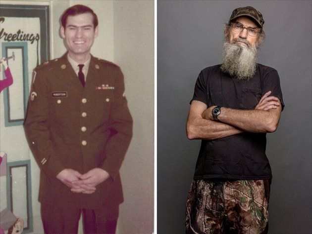 Si Robertson From The Show Duck Dynasty Is An Army Veteran Who Served In Vietnam He Retired From The Army In 1993 Duck Dynasty Vietnamkrieg Kriegerin