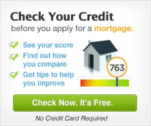 Credit Com Check Your Credit Mortgage Ad Unit Marketing For